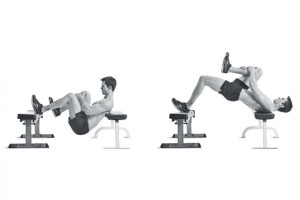 single leg hip thrust